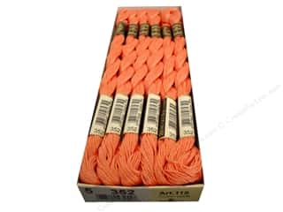 Quilting Pearl Cotton: DMC Pearl Cotton Skein Size 5 #352 Light Coral (12 skeins)