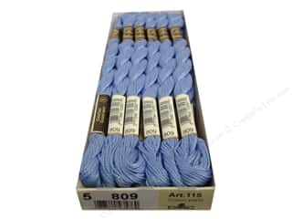 DMC Pearl Cotton Skein Size 5 #809 Delft Blue (12 skeins)