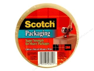 "Office Tapes: Scotch Tape Super Strength Packaging Clear 1.88""x 55yd"