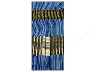 DMC Six-Strand Embroidery Floss #121 Varigatedegated Delft Blue