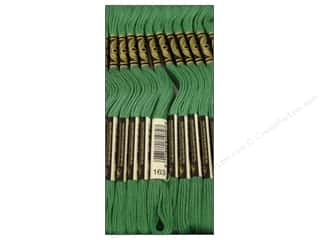 DMC Six-Strand Embroidery Floss #163 Medium Celedon Green (12 skeins)