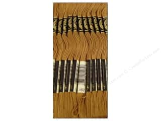 DMC Six-Strand Embroidery Floss #167 Very Dark Yellow Beige (12 skeins)
