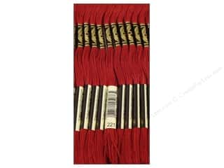 DMC Six-Strand Embroidery Floss #221 Dark Shell Pink