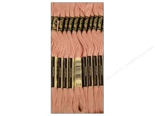 DMC Six-Strand Embroidery Floss #224 Light Shell Pink