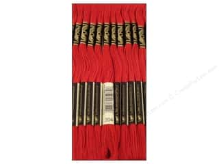Christmas Length: DMC Six-Strand Embroidery Floss #304 Medium Christmas Red (12 skeins)