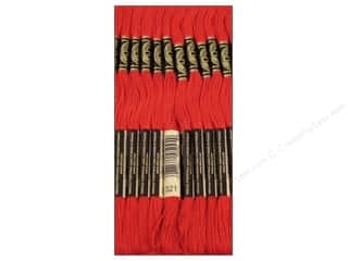 DMC Floss: DMC Six-Strand Embroidery Floss #321 Christmas Red (12 skeins)