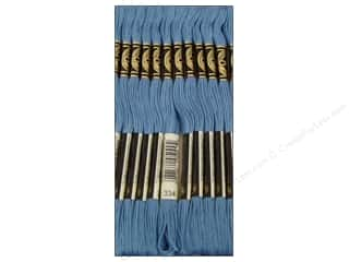 DMC Six-Strand Embroidery Floss #334 Medium Baby Blue (12 skeins)