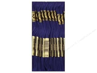 Yarn & Needlework: DMC Six-Strand Embroidery Floss #336 Navy Blue (12 skeins)