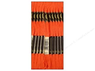 Floss DMC Six Strand Embroidery Floss: DMC Six-Strand Embroidery Floss #351 Coral (12 skeins)