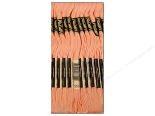 Yarn & Needlework DMC Six Strand Embroidery Floss: DMC Six-Strand Embroidery Floss #353 Peach (12 skeins)