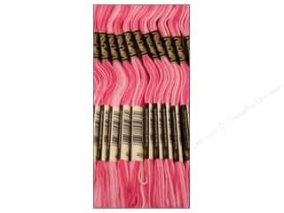Clearance Blumenthal Favorite Findings: DMC Six-Strand Embroidery Floss #48 Variegated Baby Pink (12 skeins)