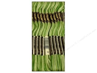 Yarn & Needlework: DMC Six-Strand Embroidery Floss #92 Variegated Avocado (12 skeins)