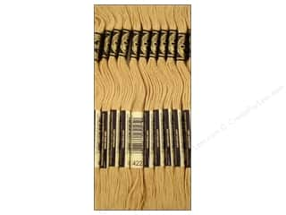 DMC Six-Strand Embroidery Floss #422 Light Hazelnut Brown (12 skeins)