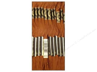 Staple Brown: DMC Six-Strand Embroidery Floss #433 Medium Brown (12 skeins)