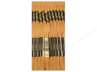 Floss DMC Six Strand Embroidery Floss: DMC Six-Strand Embroidery Floss #436 Tan (12 skeins)