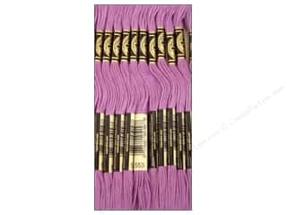 Yarn & Needlework DMC Six Strand Embroidery Floss: DMC Six-Strand Embroidery Floss #553 Violet (12 skeins)