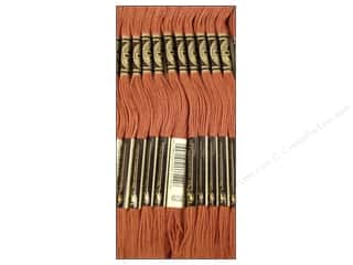 Sand Brown: DMC Six-Strand Embroidery Floss #632 Ultra Very Dark Desert Sand (12 skeins)