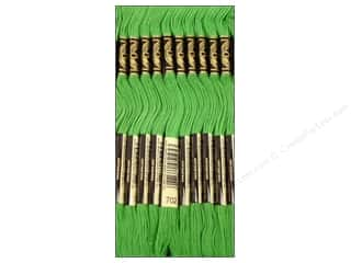 Embroidery Green: DMC Six-Strand Embroidery Floss #702 Kelly Green (12 skeins)