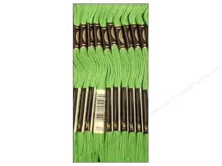Sewing & Quilting Embroidery Floss: DMC Six-Strand Embroidery Floss #703 Chartreuse (12 skeins)