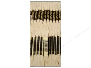 DMC Six-Strand Embroidery Floss #712 Cream (12 skeins)