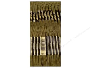 DMC Six-Strand Embroidery Floss #3011 Dark Khaki Green