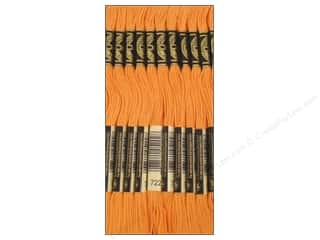 Floss Hot: DMC Six-Strand Embroidery Floss #722 Light Orange Spice (12 skeins)