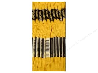 Sewing & Quilting Embroidery Floss: DMC Six-Strand Embroidery Floss #725 Topaz (12 skeins)