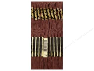 DMC Six-Strand Embroidery Floss #779 Dark Cocoa (12 skeins)