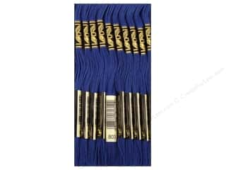 DMC Six-Strand Embroidery Floss #803 Ultra Very Dark Baby Blue (12 skeins)