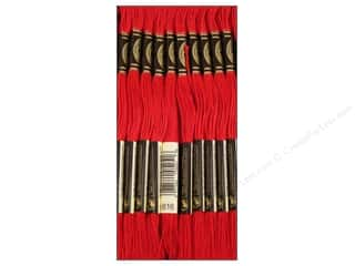 Yarn & Needlework DMC Six Strand Embroidery Floss: DMC Six-Strand Embroidery Floss #816 Garnet (12 skeins)