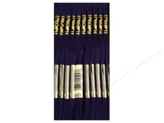 DMC Six-Strand Embroidery Floss #823 Dark Navy Blue (12 skeins)