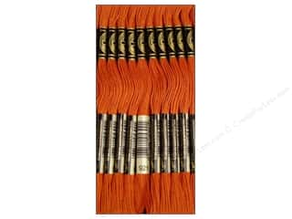 Yarn & Needlework DMC Six Strand Embroidery Floss: DMC Six-Strand Embroidery Floss #921 Copper (12 skeins)