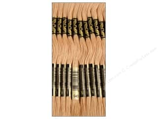 Stitchery, Embroidery, Cross Stitch & Needlepoint DMC Six Strand Embroidery Floss: DMC Six-Strand Embroidery Floss #945 Tawny (12 skeins)