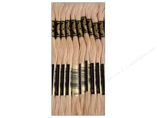 Floss Cream/Natural: DMC Six-Strand Embroidery Floss #948 Very Light Peach Flesh (12 skeins)