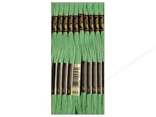 Floss Hot: DMC Six-Strand Embroidery Floss #954 Nile Green (12 skeins)