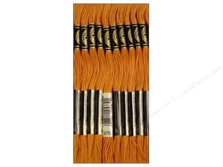 Staple Brown: DMC Six-Strand Embroidery Floss #976 Medium Golden Brown (12 skeins)