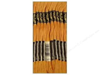 Staple Brown: DMC Six-Strand Embroidery Floss #977 Light Golden Brown (12 skeins)