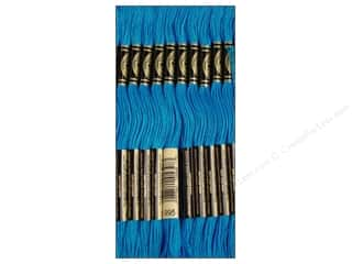 Sewing & Quilting Embroidery Floss: DMC Six-Strand Embroidery Floss #995 Dark Electric Blue (12 skeins)