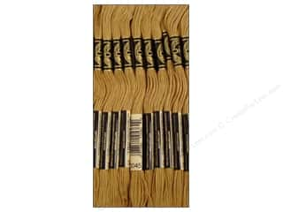 DMC Six-Strand Embroidery Floss #3045 Dark Yellow Beige