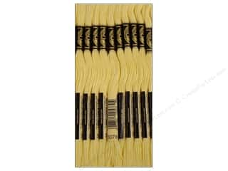 DMC Six-Strand Embroidery Floss #3078 Very Light Golden Yellow