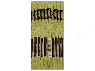 DMC Six-Strand Embroidery Floss #3348 Light Yellow Green