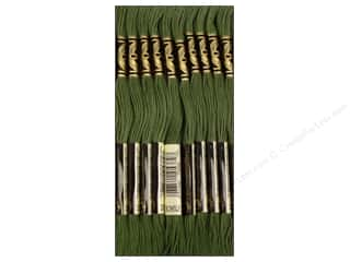 DMC Six-Strand Embroidery Floss #3362 Dark Pine Green