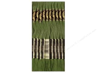 DMC Six-Strand Embroidery Floss #3363 Medium Pine Green