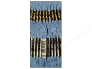 Baby Blue: DMC Six-Strand Embroidery Floss #3755 Baby Blue (12 skeins)