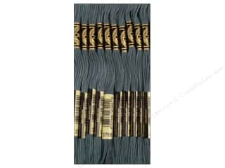 DMC Six-Strand Embroidery Floss #3051 Dark Grey Green (12 skeins)