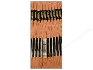 DMC Six-Strand Embroidery Floss #3779 Ultra Light Very Light Terra Cotta (12 skeins)