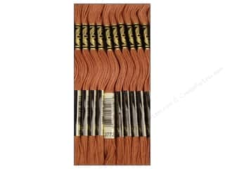 Sand Brown: DMC Six-Strand Embroidery Floss #3772 Very Dark Desert Sand (12 skeins)