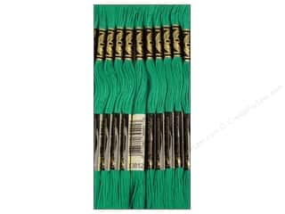 Floss Hot: DMC Six-Strand Embroidery Floss #3812 Very Dark Sea Green (12 skeins)