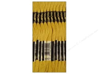 DMC DMC Six Strand Embroidery Floss: DMC Six-Strand Embroidery Floss #3821 Straw (12 skeins)
