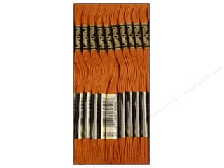 DMC Brown: DMC Six-Strand Embroidery Floss #3826 Golden Brown (12 skeins)